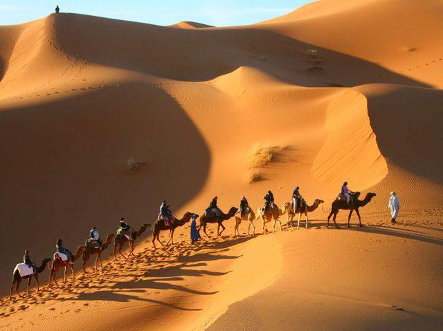 Имперските градове на Мароко