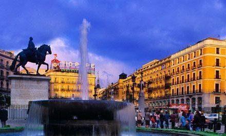 Трите столици на Испания