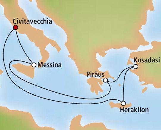 Източносредиземноморски круиз