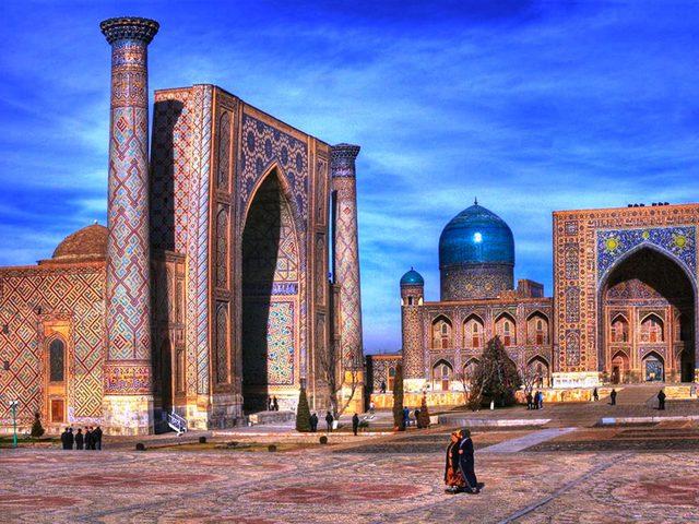 Узбекистан - група
